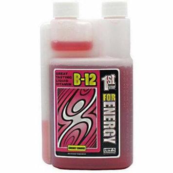 1st Step Energy B12, Cherry Charge, 16 OZ