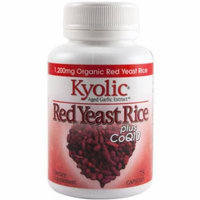 Kyolic Red Yeast Rice plus CoQ10 Capsules, 75 CT