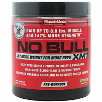 Muscle Meds No Bull XMT Pre Workout Powders, Lemon Ice, 8.11 OZ