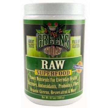 Green's Today Raw Diet Supplement Superfood Powder, 10.5 OZ