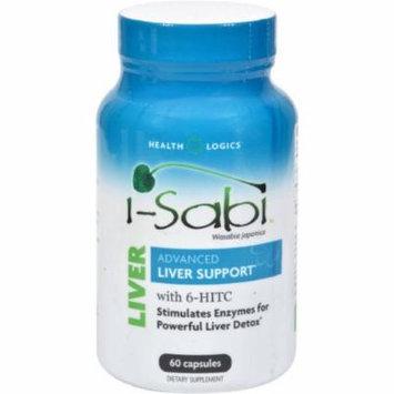 Health Logics I-Sabi Wasabia Japonica Advanced Liver Support, Capsules, 60 CT