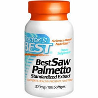 Doctor's Best Saw Palmetto Extract, 180 CT