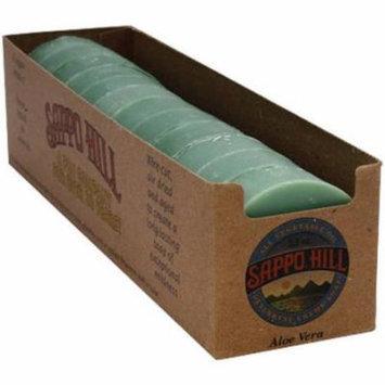 Sappo Hill Glycerine Creme Soap - Aloe Vera, 3.5 OZ (Pack of 12)