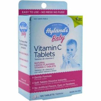 Hylands Baby Vitamin C Tablets, 125 CT