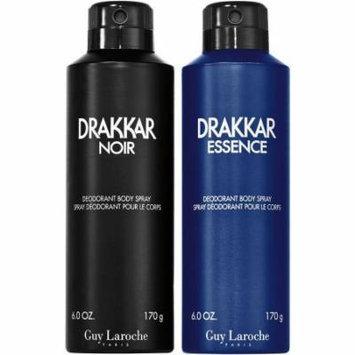 Guy Laroche Drakkar for Men Noir Body Spray Gift Set, 2 pc