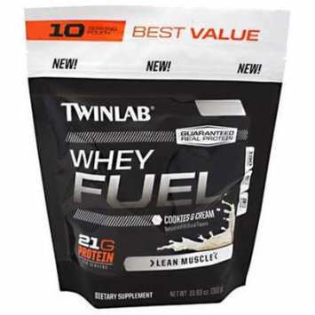 Twinlab Cookies and Cream Whey Fuel, 10.93 OZ