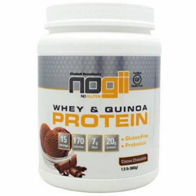 Nogii Whey and Quinoa Protein, Cocoa Chocolate, 15 CT