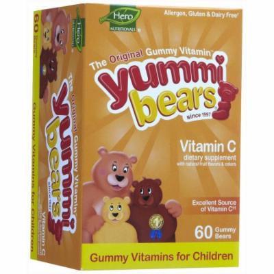 Yummi Bears Vitamin C, Antioxidant Power & Immune Health Gummies, 60 CT