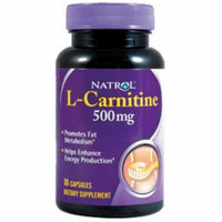 Natrol Carnitine 500 mg, 30 CT