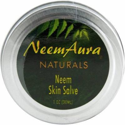 Neem Aura Naturals Naturals Neem Skin Salve, 1 OZ (Pack of 3)