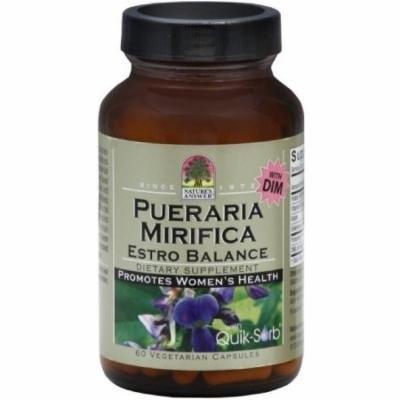 Nature's Answer Pueraria Mirifica Vegetarian Capsules, 60 CT