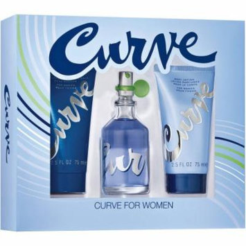 Curve Fragrance for Women, 3 pc