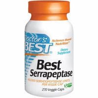 Doctor's Best Serrapeptase 40,000 Units, 270 CT
