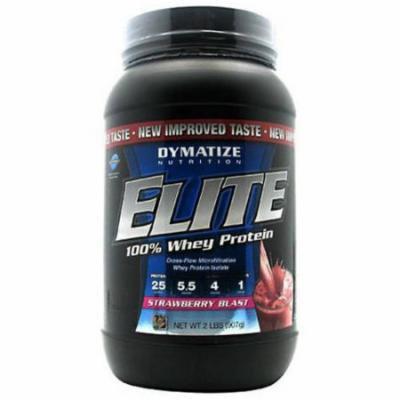 Dymatize 100% Whey Protein, Strawberry Blast, 2 LB