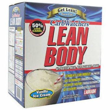 Labrada Nutrition Lean Body, Vanilla Ice Cream, 20 CT
