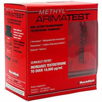 Muscle Meds Methyl Arimatest, 180 CT