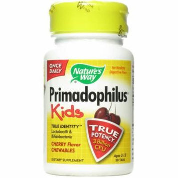 Nature's Way Primadophilus Cherry for Kids, 30 CT