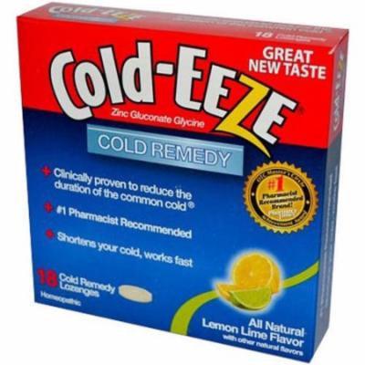 Cold-Eeze Remedy Lozenges Lemon Lime, 18 CT
