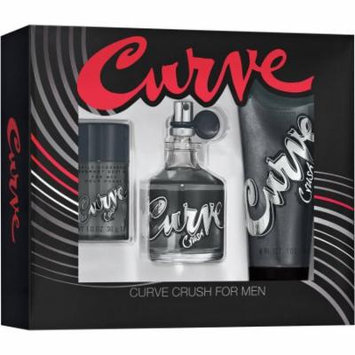 Curve Crush Cologne for Men, 3 pc