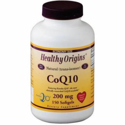 Healthy Origins CoQ10, Kaneka Q10, 100% Natural, 200mg, 150 CT