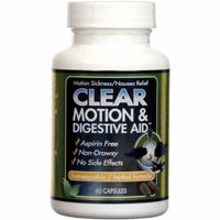 Clear Motion & Digestive Aid, Capsules, 60 CT
