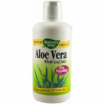 Nature's Way Aloe Vera Whole Leaf Juice, 1 LTR