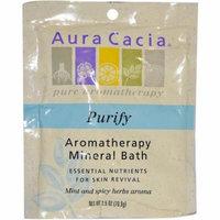 Aura Cacia Aromatherapy Mineral Bath Balancing, 2.5 OZ (Pack of 6)