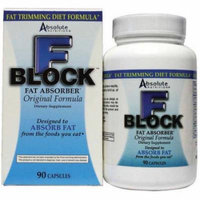 Absolute Nutrition Fat Blocker, Fat Absorber, 90 CT
