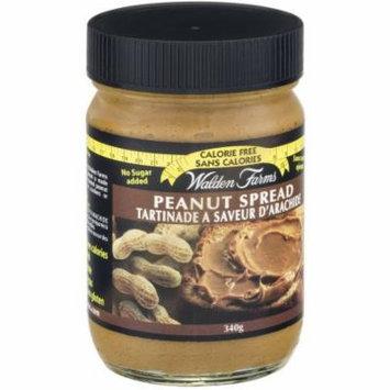Walden Farms Peanut Spread, Creamy, 12 OZ (Pack of 6)