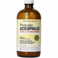 American Health Acidophilus Culture Plain, 16 FL OZ