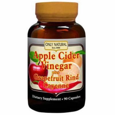 Only Natural Apple Cider Vinegar Plus Capsules, 90 CT