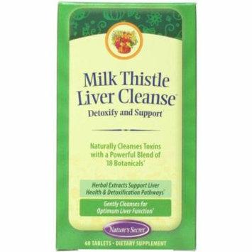 Nature's Secret Milk Thistle Liver Cleanse, 60 CT