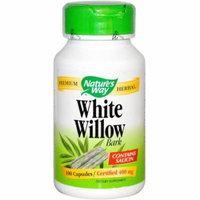 Nature's Way White Willow Bark Capsules, 100 CT