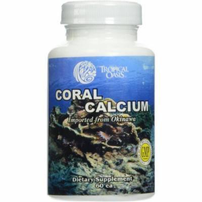 Tropical Oasis Coral Calcium, 60 CT