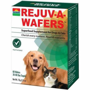 Sun Chlorella Rejuv-A-Wafers, Dogs & Cats, 60 CT