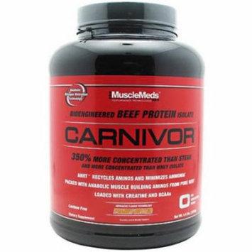 Muscle Meds Carnivor, Peanut Butter, 4.4 LB