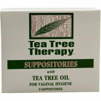 Tea Tree Therapy Suppository, 6 CT