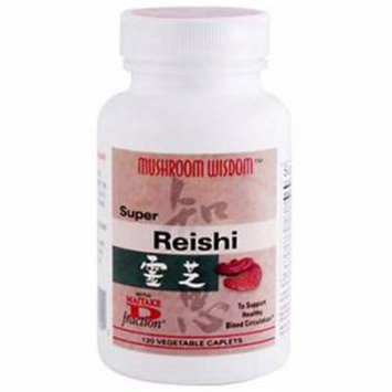 Mushroom Wisdom Super Reishi, Supports Immune & Optimal Health, 120 CT