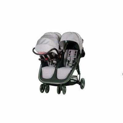 Combi 2016 Fold N Go Double Stroller, Titanium