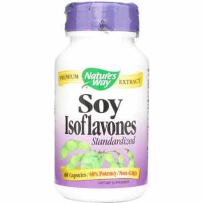 Nature's Way Soy Isoflavones Capsules, 60 CT