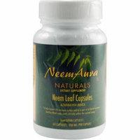 Neem Aura Naturals Organic Neem Leaf Vegetarian Capsules, 60 CT