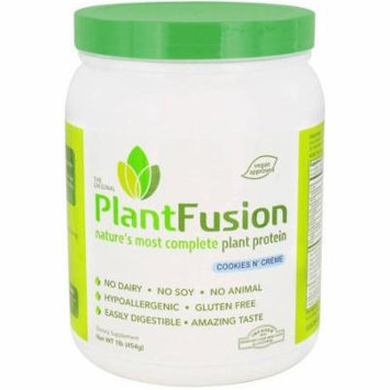 Plantfusion Diet Supplement, Cookies N Cream, 1 LB