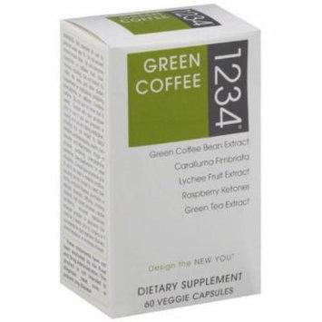 Creative Bioscience Green Coffee 1234, Veggie Capsules, 60 CT