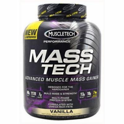 MuscleTech Mass Tech, Vanilla, 7 LB