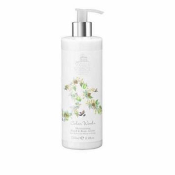 Woods of Windsor W250001-6 350ml Hand and Body Lotion - Cedar Woods