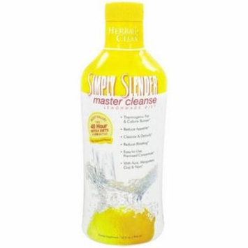 Herbal Clean Simply Slender Master Cleanse Lemon Made Diet, 32 OZ