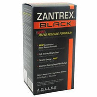 Zantrex Black Rapid Release Liquid Gels, 84 CT