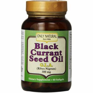 Only Natural Black Currant Seed Oil, 60 CT