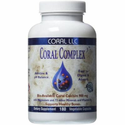 Coral LLC Coral Complex Bio-Available Coral Calcium, 180 CT