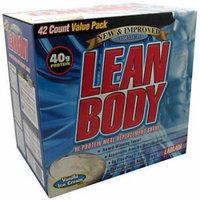 Labrada Nutrition Lean Body, Vanilla Ice Cream, 42 CT